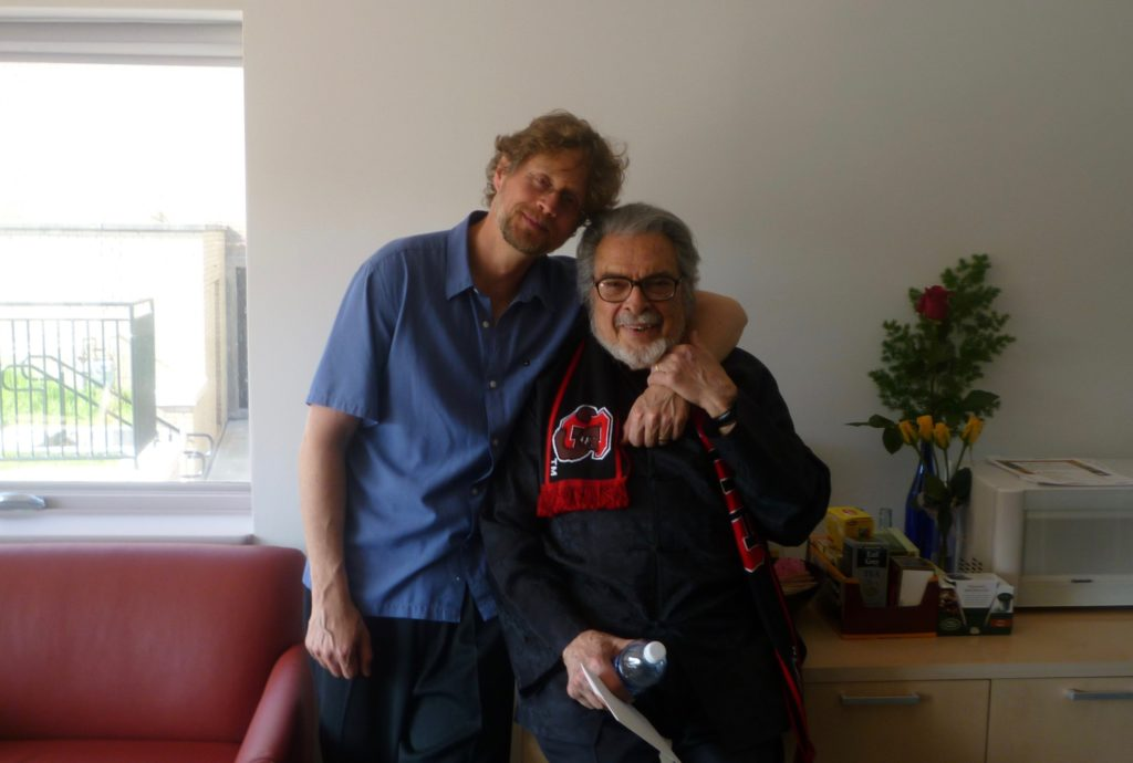 Xak Bjerken and Leon Fleisher