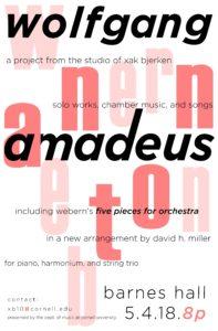 Poster for Anton/Amadeus festival