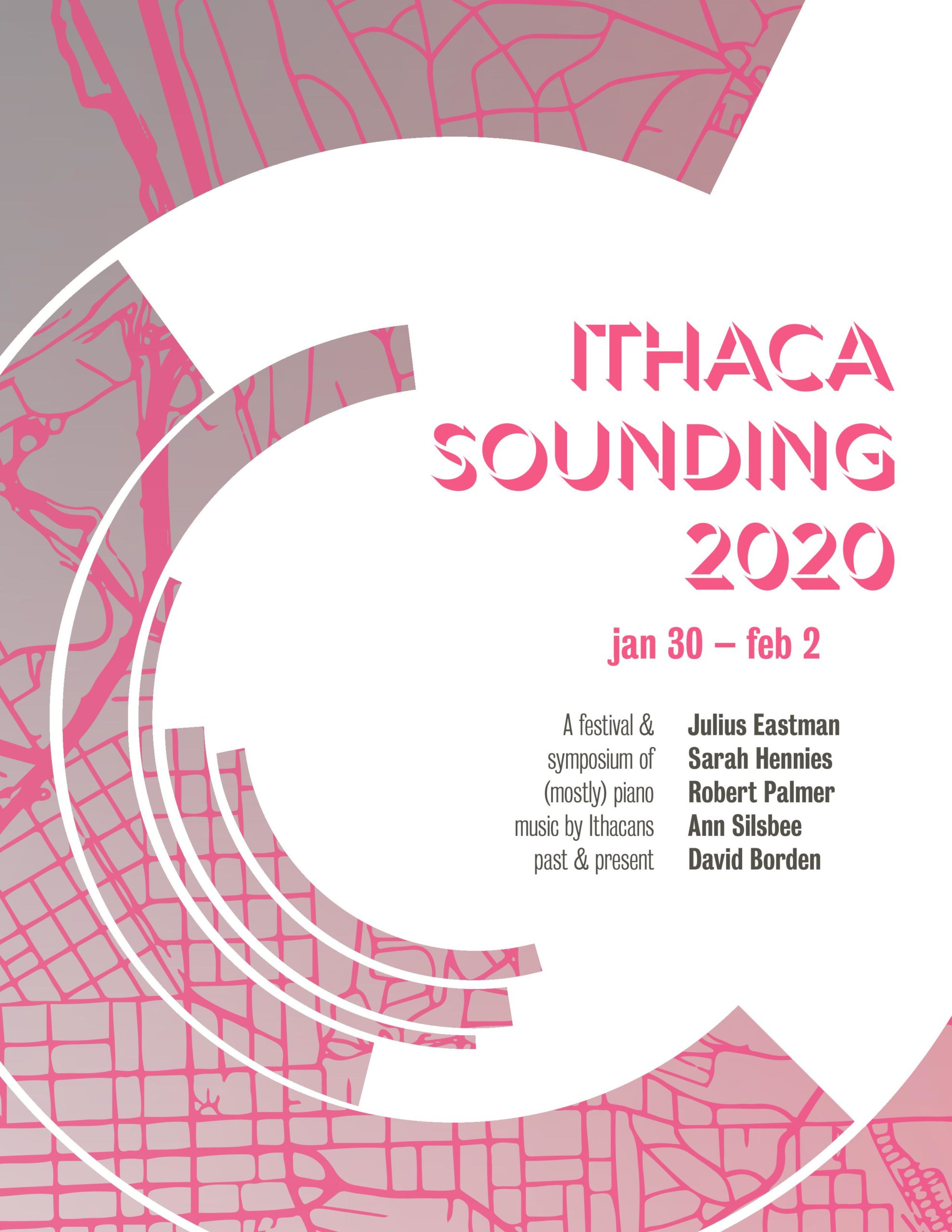 Poster for Ithaca Sounding Festival 2020